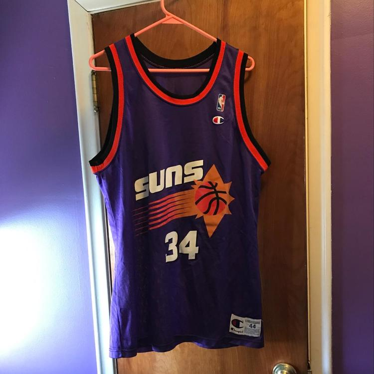 6be17132399 ... coupon for charles barkley phoenix suns champion jersey size 44 sold  f6363 f8c8b