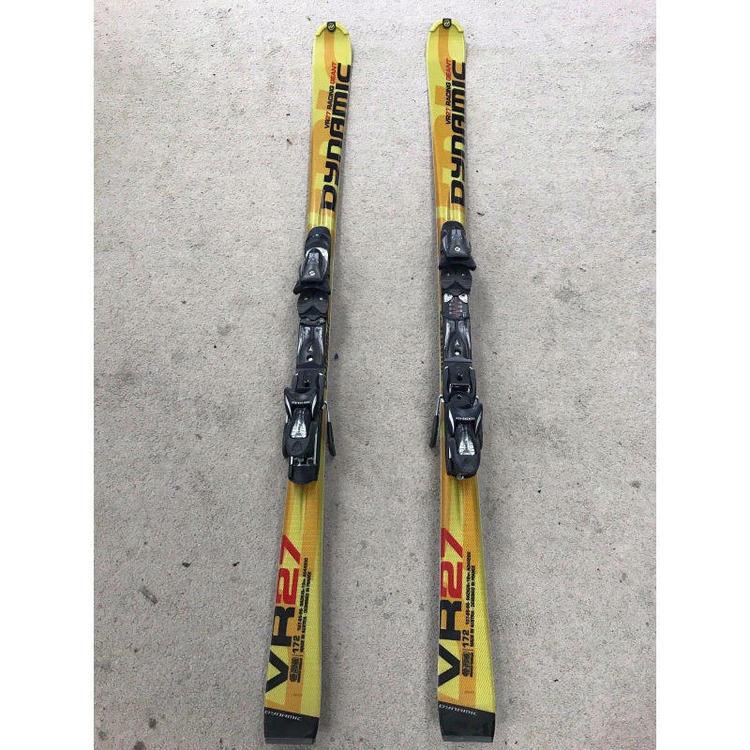 Dynamic VR27 172cm Yellow -New