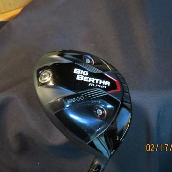 Callaway Big Bertha Alpha 816 Dbd Driver Righty Expired Golf