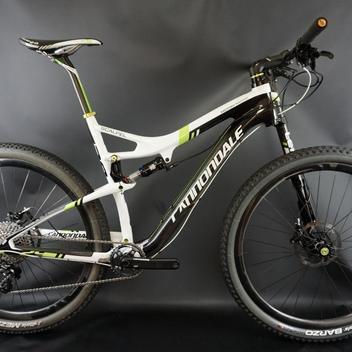 f1a1e58531a 2014 Cannondale Scalpel Hi Mod Carbon Team 29 Sram XX1 Enve Wheels Size: XL