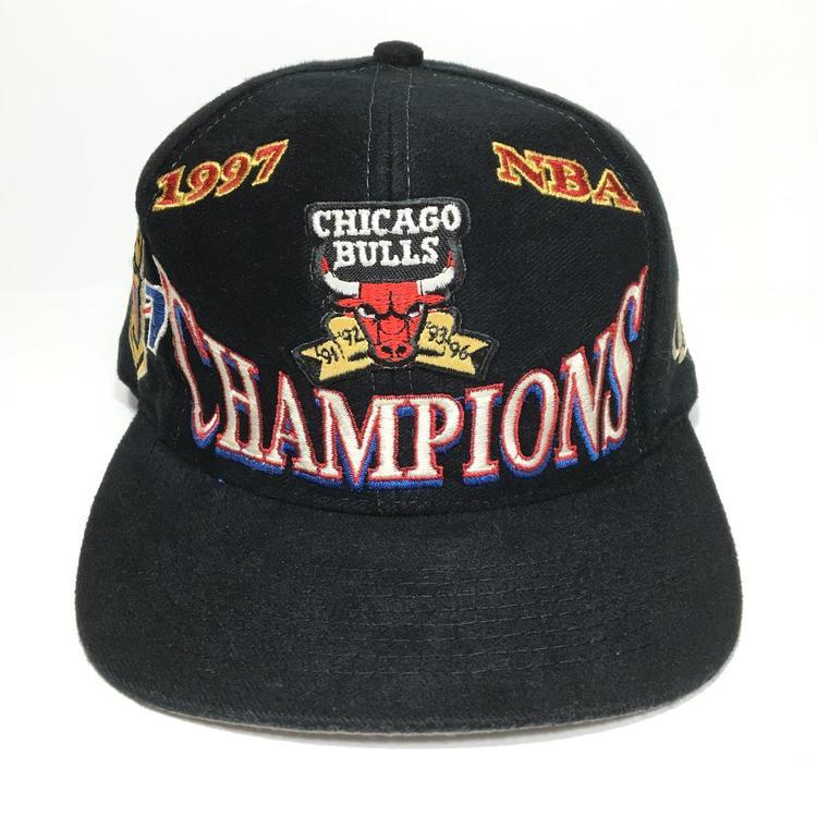 2f8726e9f45 Vintage Chicago Bulls 1997 Champions Snapback Hat