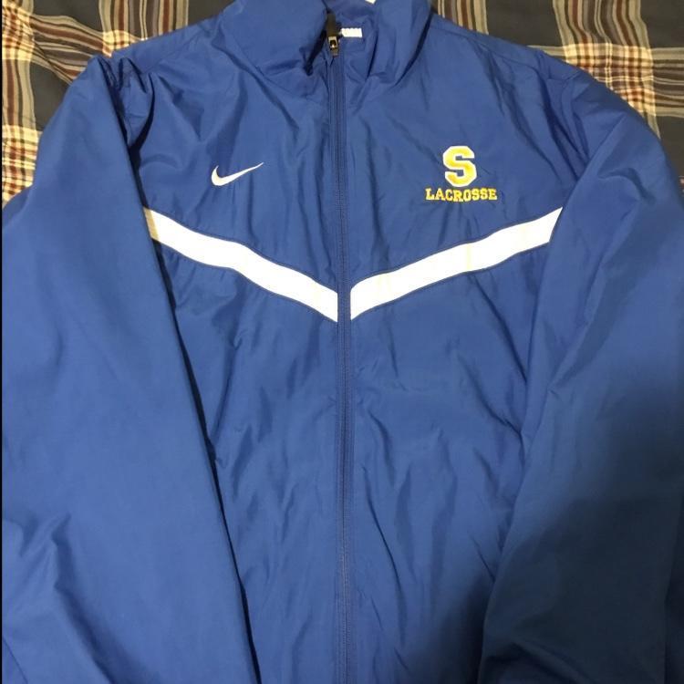Nike Springfield Warm Up Jacket Sold Lacrosse Apparel