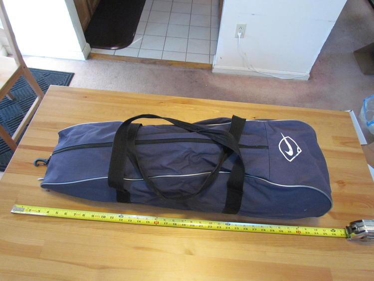 Nike Baseball Bat Equipment Bag Used Expired