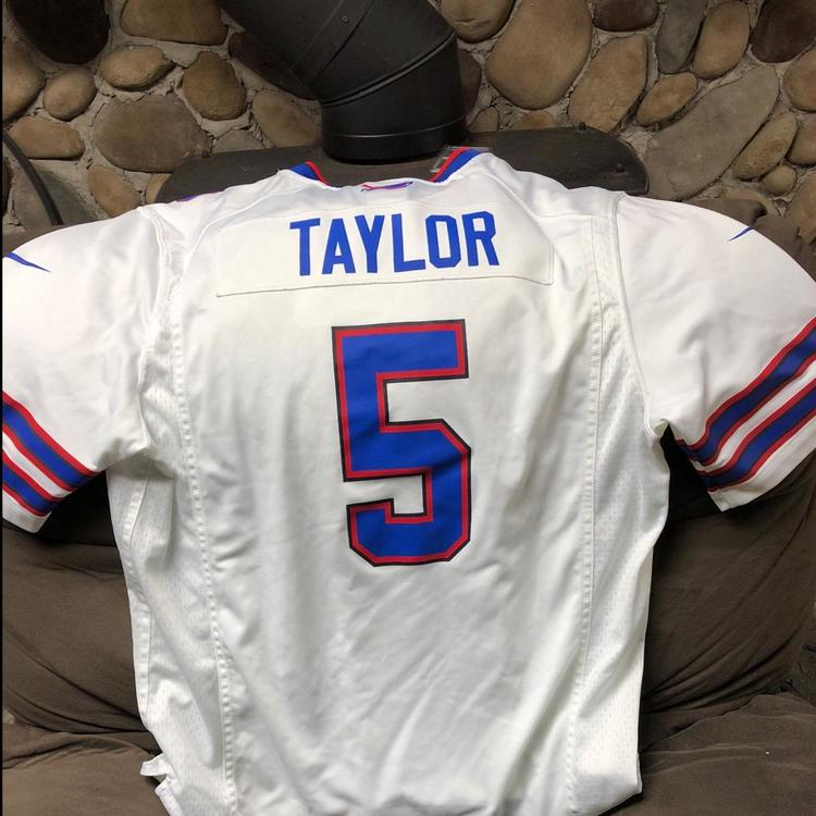 a31d3e9da03 Tyrod Taylor Bills Away Jersey