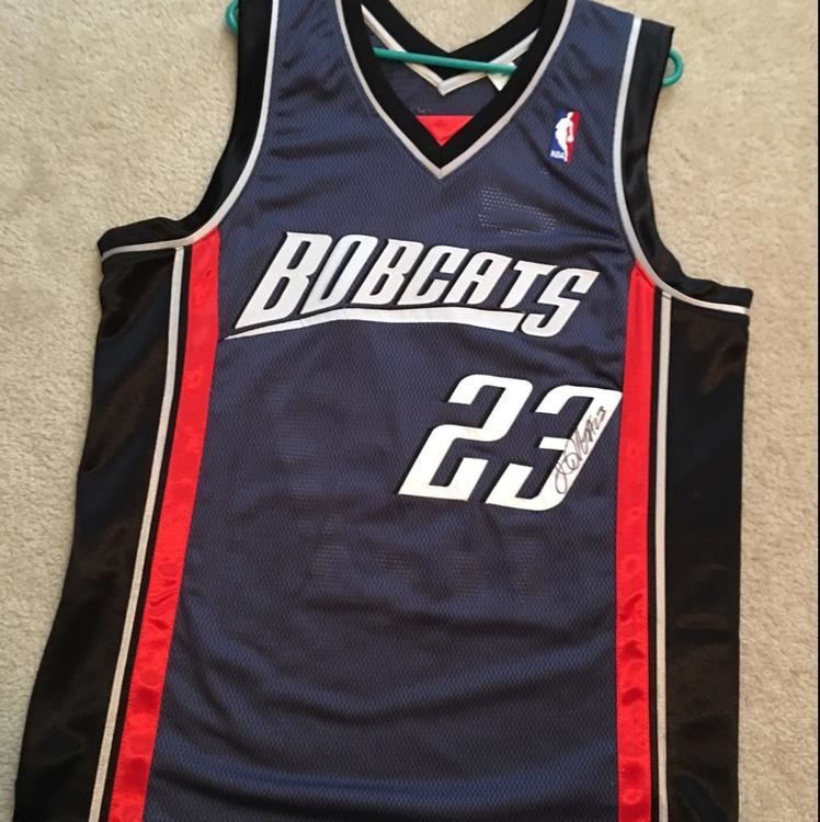 newest 895a7 f4169 Charlotte Bobcats / NBA Authentic Jersey - Autographed: Jason Richardson