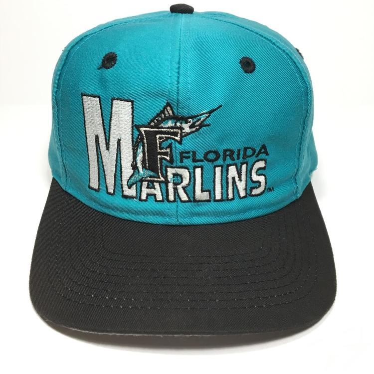 dc0a0929e1e1a ... ireland vintage florida marlins snapback hat 231f5 a47f3
