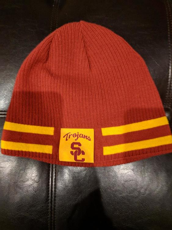 fded790ff10 ... discount code for nike usc trojans beanie reversable sold 01830 f4b6a