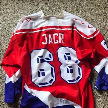 c3dd6e07245 Czech Jagr Hockey Jersey - SOLD