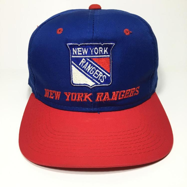 f9d79e9f11fe0 Vintage New York Rangers Snapback Hat. Related Items