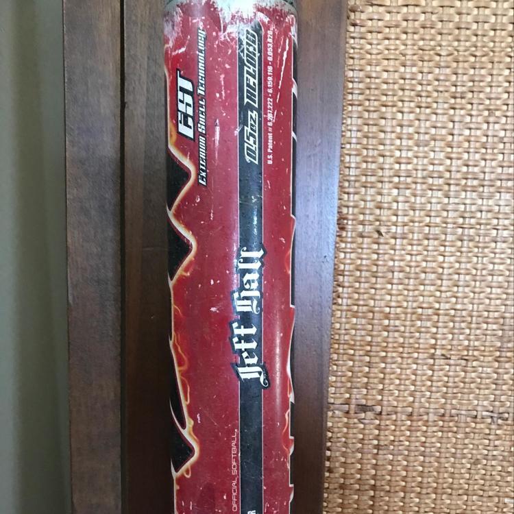"Worth AMP EST Jeff Hall ASA Certified 34""/26 5 Oz Slow Pitch Bat | SOLD |  Softball Bats | SidelineSwap"