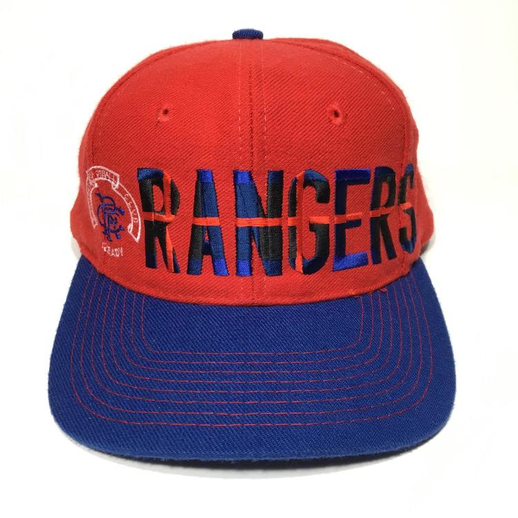 Vintage Adidas Rangers F.C. Snapback Hat - SOLD afe025219bc9