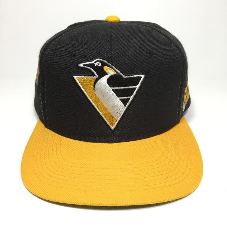 4e516c2c4ab1b Vintage Pittsburgh Penguins Snapback Hat Sports Specialties