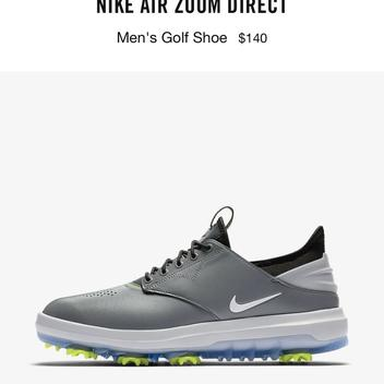 672d09d035ab59 New Nike Air Zoom Direct Golf Shoe Size 12. Comments (6) Favorites (2)