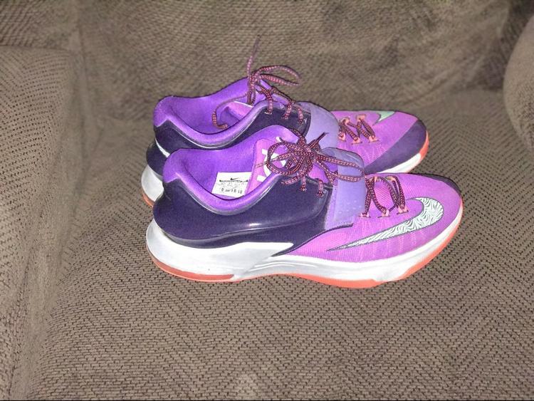 nike kd 7 cave purple expired basketball footwear sidelineswap
