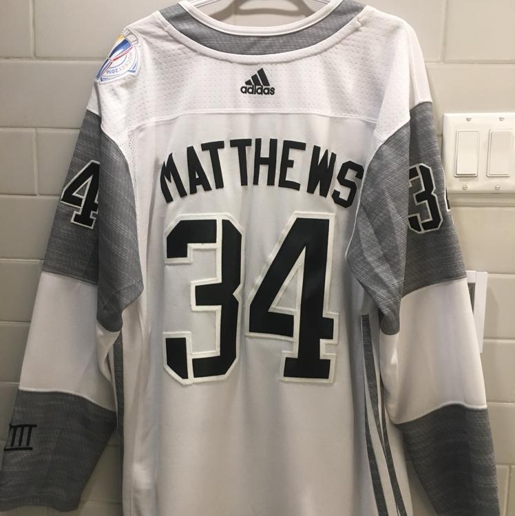 auston matthews team north america jersey