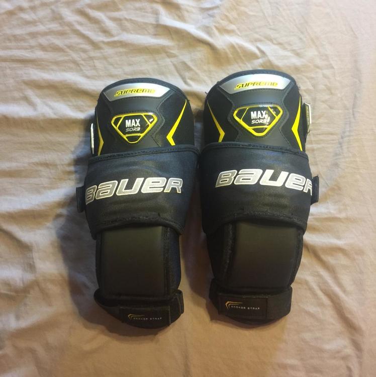 Bauer Supreme Hockey Goalie Knee Pads Sr
