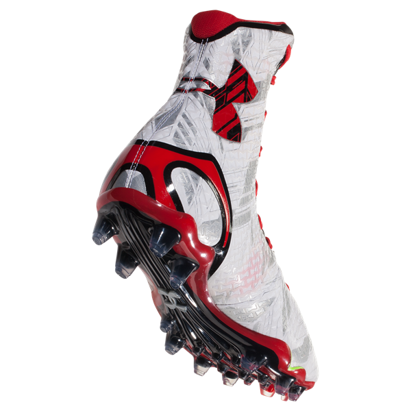 b22c975a3e0b Under Armour New Mens LAX Highlight MC Football Cleats White/Red ...