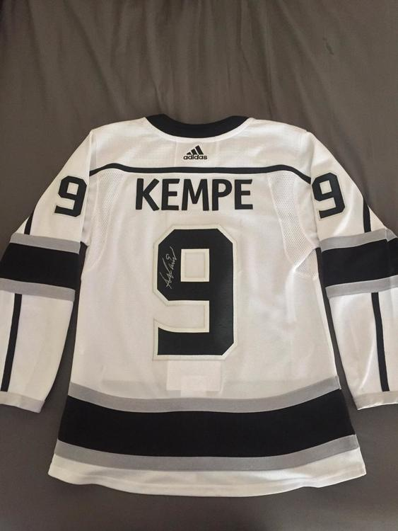 9f66ae62e New Adidas Adrian Kempe - Autographed - Kings jersey (100% aunthentic from  staples center