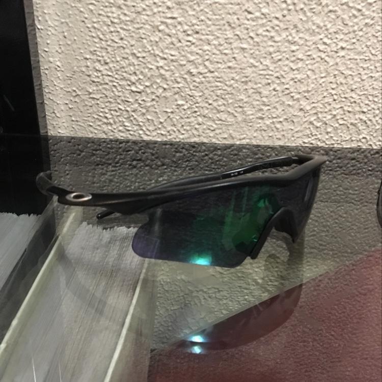 3e05e24332 Oakley M Frames Adult. Custom Lenses Black Frame