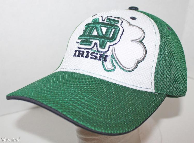 online retailer 7b1a6 9e1fb ... netherlands notre dame fighting irish ncaa stretch fit mesh hat top of  the world older logo ...