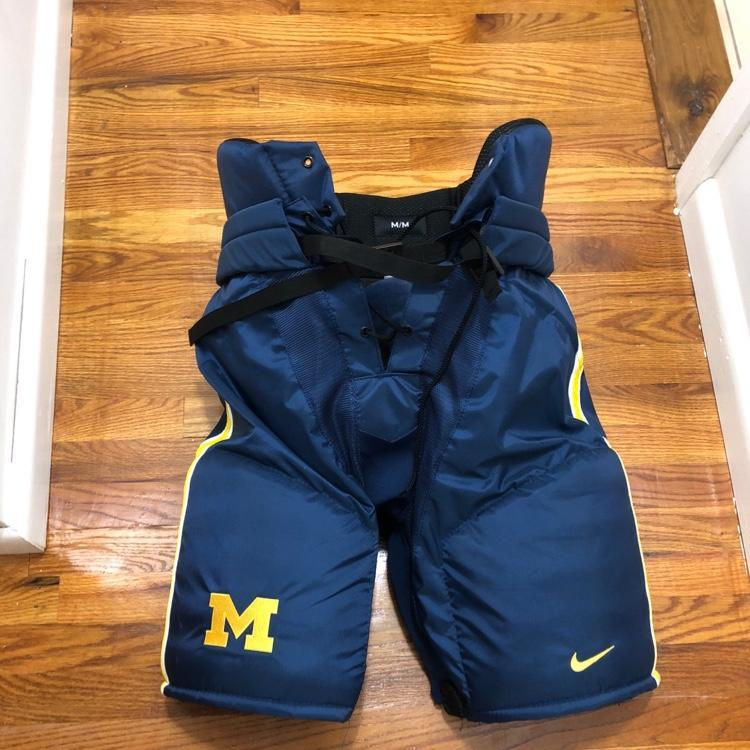 Nike Hockey Gloves: Bauer Michigan Nike (medium)