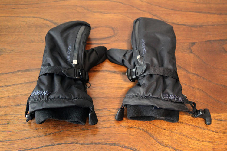 ts black listing toaster leather gloves swany mittens accessories off m