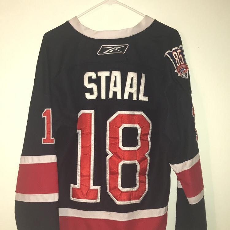 buy popular 207e1 30528 New York Rangers 85th Anniversary Staal Alternate Jersey
