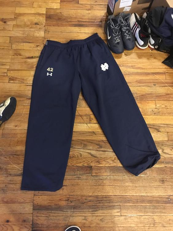 5c4e3f05f180 Under Armour Notre Dame Team Issue Sweatpants | EXPIRED | Lacrosse ...