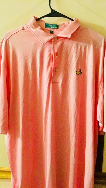 Masters Peter Millar Golf Shirt c4c7f06c2af