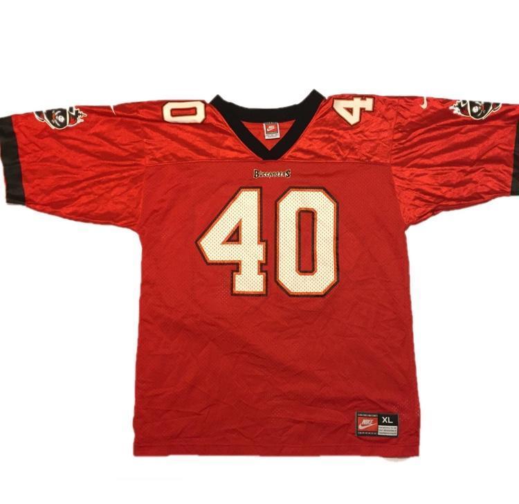Vintage Nike Tampa Bay Buccaneers Mike Alstott Jersey  14441050b