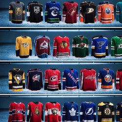 Reebok New Nhl Teams Jerseys Stitched Customize 25 Hockey