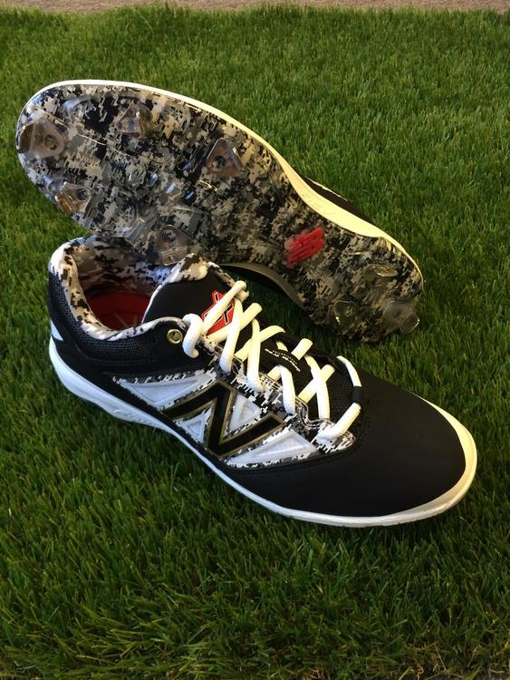 aaa2e2514 New Balance 4040v3 Dustin Pedroia Low Metal Cleats. Related Items