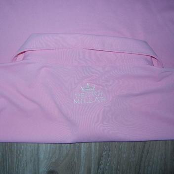 ff92b291480 Peter Millar Summer Comfort Mens Golf Polo Sz Large Pink