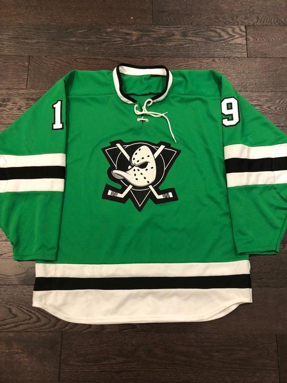 pick up 5ea21 29b7b authentic anaheim ducks green jersey c9f26 92bfd