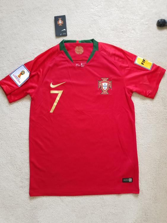 new styles 1db61 04412 Cristiano Ronaldo World Cup Shirt portugal home