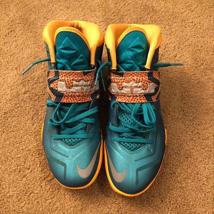 new style a33ee a5c54 Nike LeBron Soldier 7 Turbo Green
