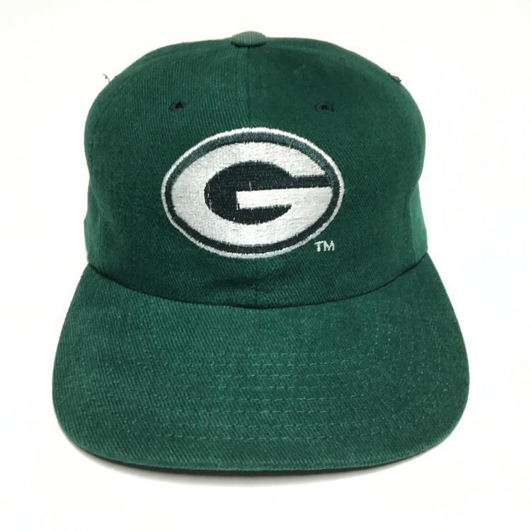 c6574cad Vintage Green Bay Packers Snapback Hat