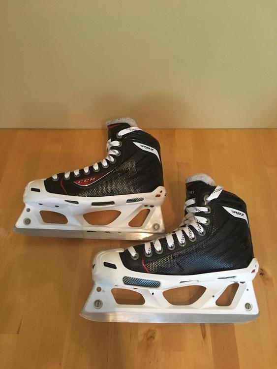 6477b238a28 CCM RBZ 80 Goalie Skates Junior Size 4.5 - EXPIRED