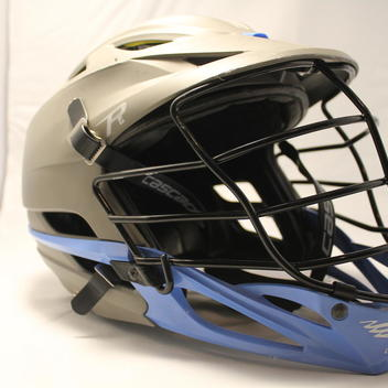 Cascade Custom R Matte Grey/Carolina Blue Helmet | SOLD ...