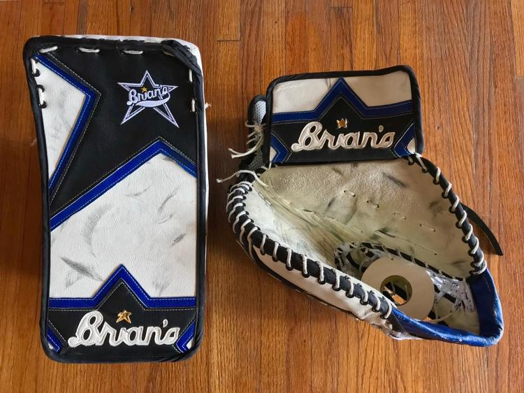 Vintage Brian s Thief Goalie Glove   Blocker Regular Senior - Garth Snow  Pro Return Tampa Bay - SOLD 977da4af3f