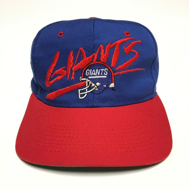 Vintage New York Giants Snapback Hat  0a06be4f153