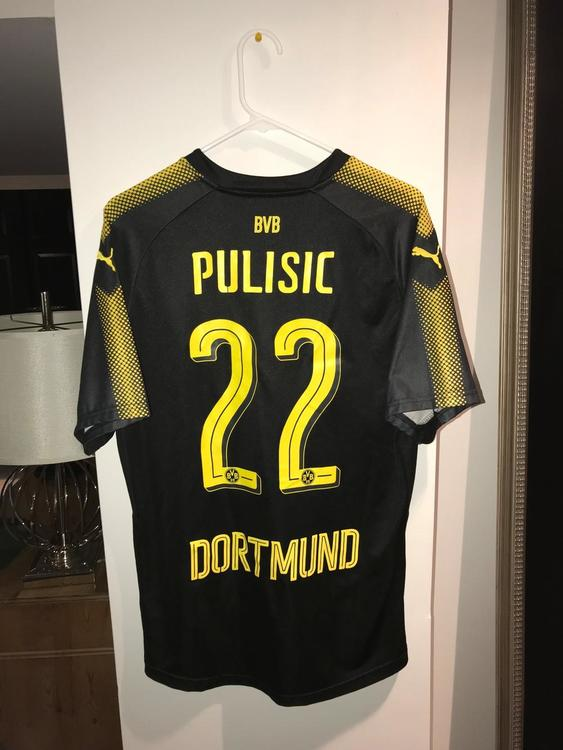 more photos f4547 2e94c Authentic Puma Dortmund Pulisic Jersey