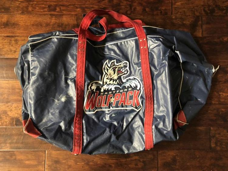 Pro Stock Hartford Wolf Pack Gerry Cosby Player Bag