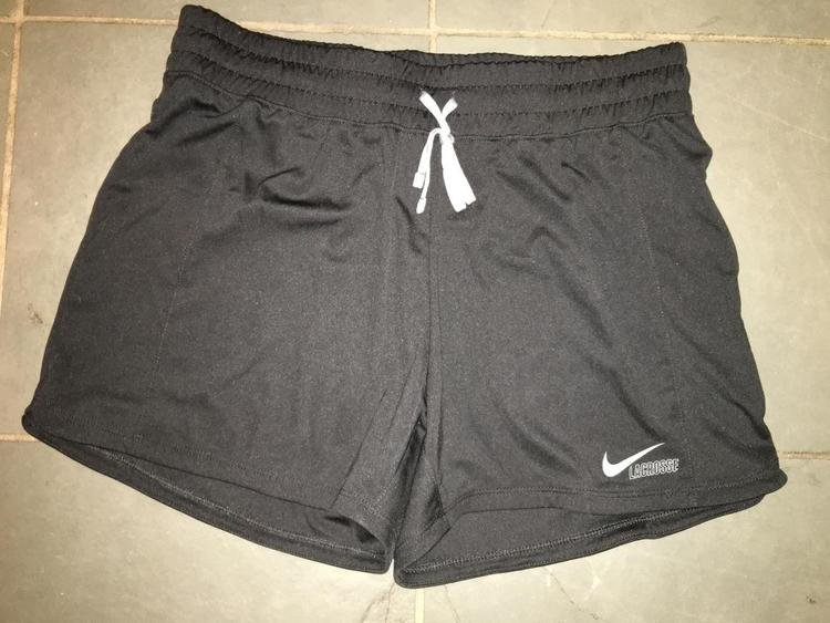 NEW Womens NIKE lacrosse shorts Womens MEDIUM - SOLD 32889a3dac1
