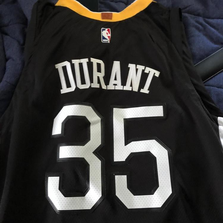 Nike 2018 Brand New Kevin Durant Warriors Jersey  115ea1dd1