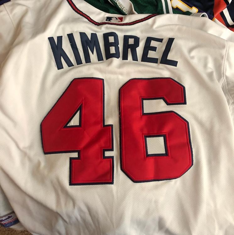 the latest cdbee 81d9a Craig Kimbrel Atlanta Braves Jersey