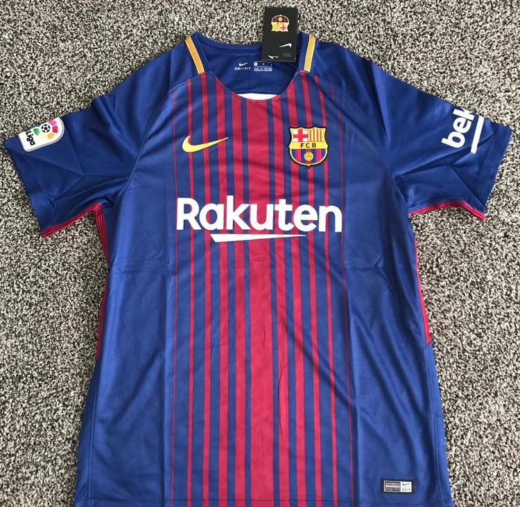 cheap for discount fa9cf d098b Barcelona Soccer Jersey No Name (L)