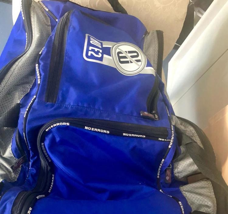No Errors E2 Catchers Gear Bag With Fatboy Wheels