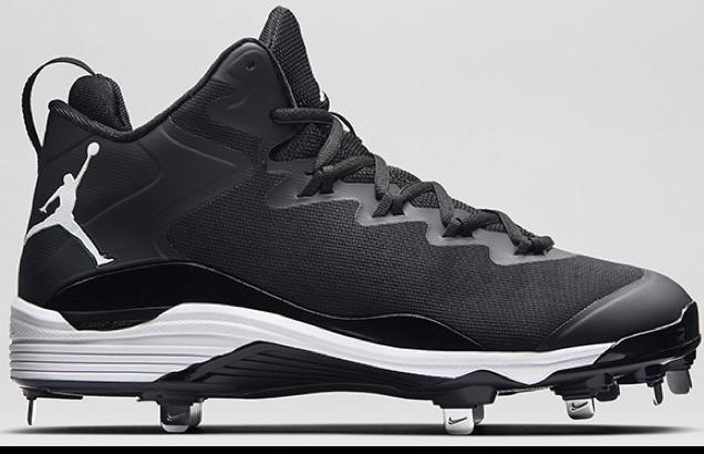 detailed look 8a38e 503a3 NIKE AIR JORDAN Superfly 3 Metal Baseball Cleats Men s Size 13 Excellent!  Black White. Related Items