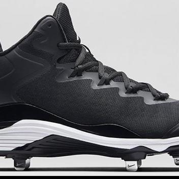 df244f2fcdd NIKE AIR JORDAN Superfly 3 Metal Baseball Cleats Men s Size 13 Excellent!  Black White